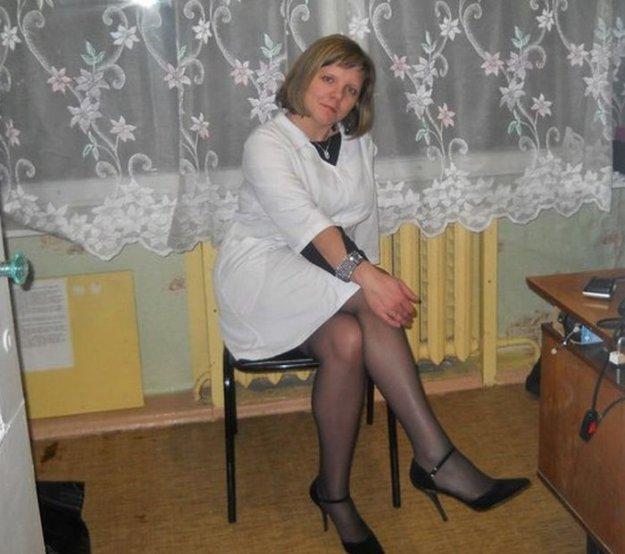 В колготках медсестры фото