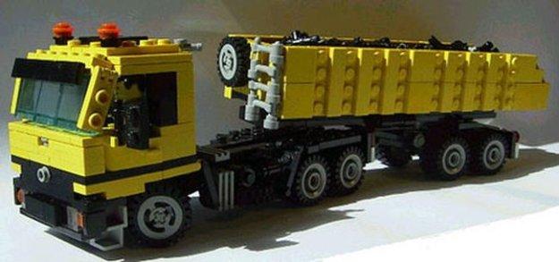 Смотреть лего как сделать грузовик