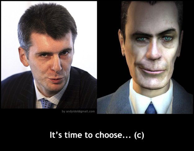 It's time to choose (c)