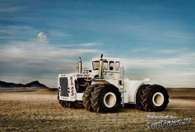 Фото тракторов мира