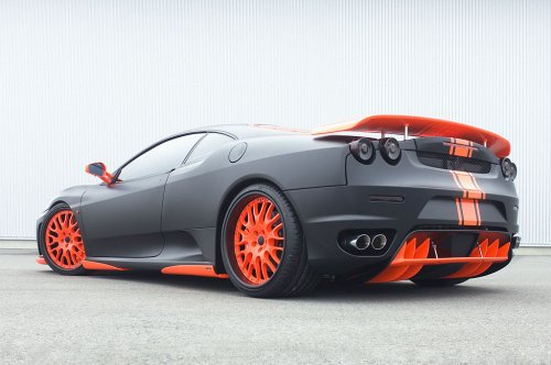 Hamann представил Ferrari F430 Black Miracle