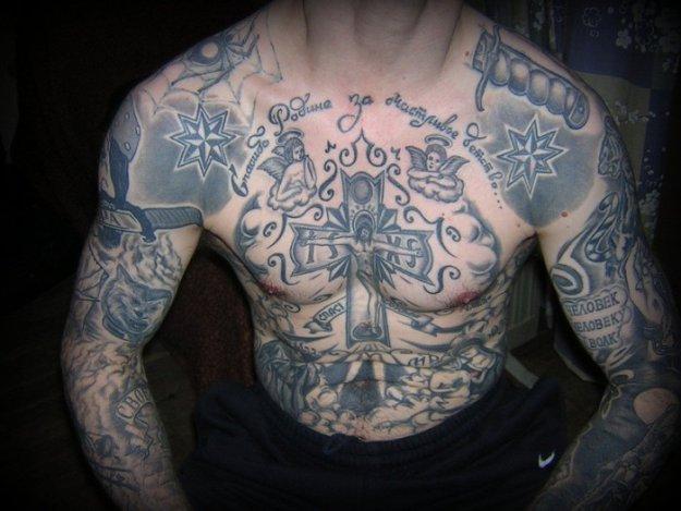 Уголовные татуировки и их значение на зоне, Тюремные 335