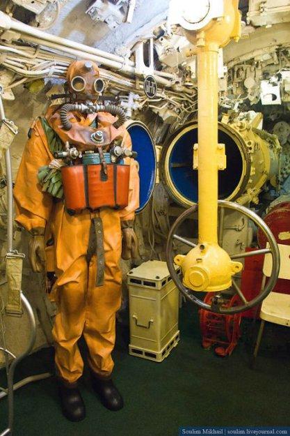 турбинист на подводной лодке