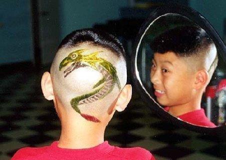 Funny kids haircuts
