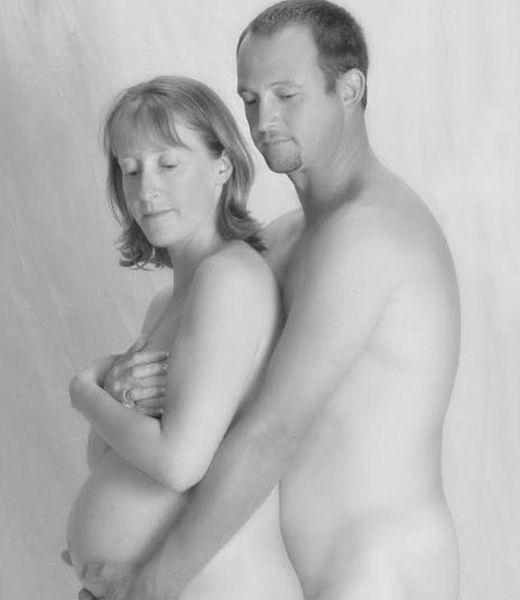 голые фото беременных девушек