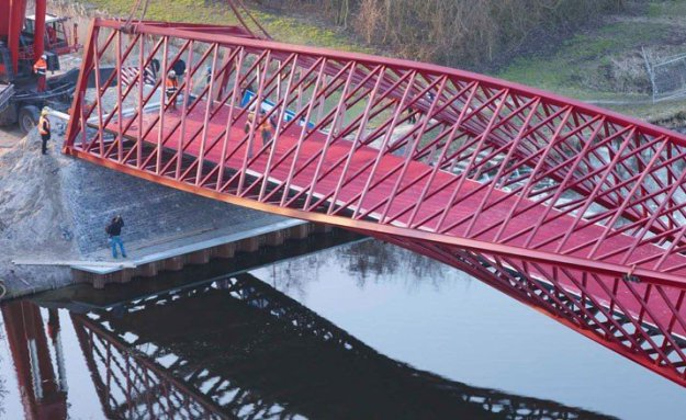 Twist Bridge в Нидерландах