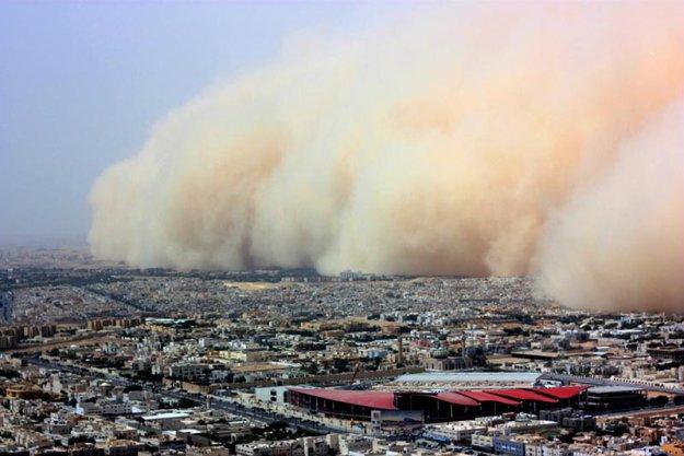 Самум песчаная буря
