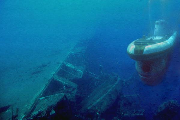 подводная лодка разные люди