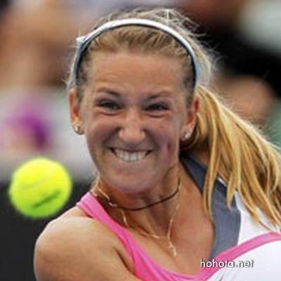 Смешные лица в теннисе