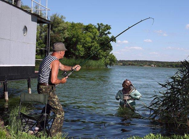 старое видео про рыбалку