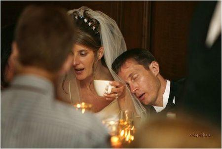 Пикантные моменты на на свадьбах