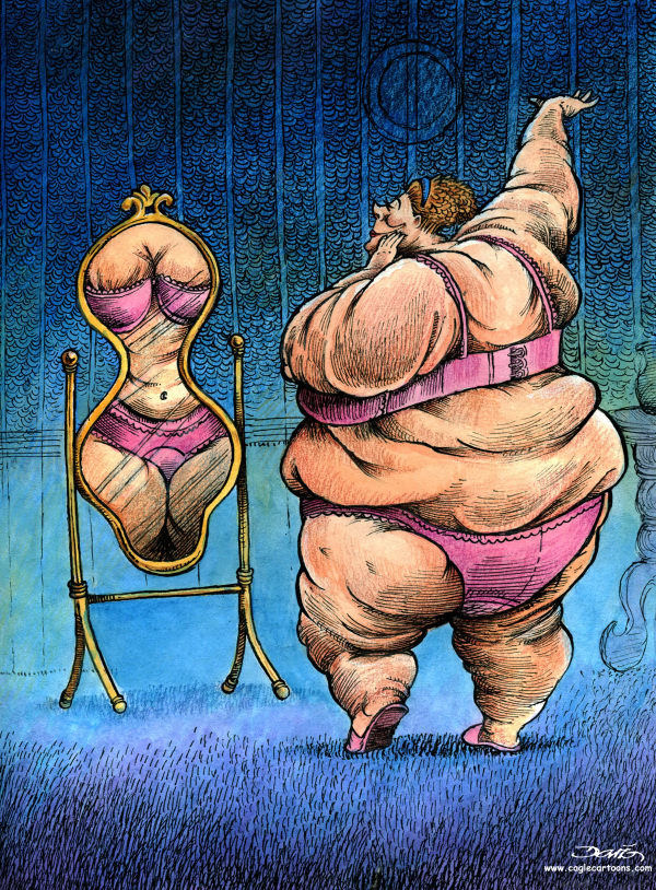 Рисунки толстух