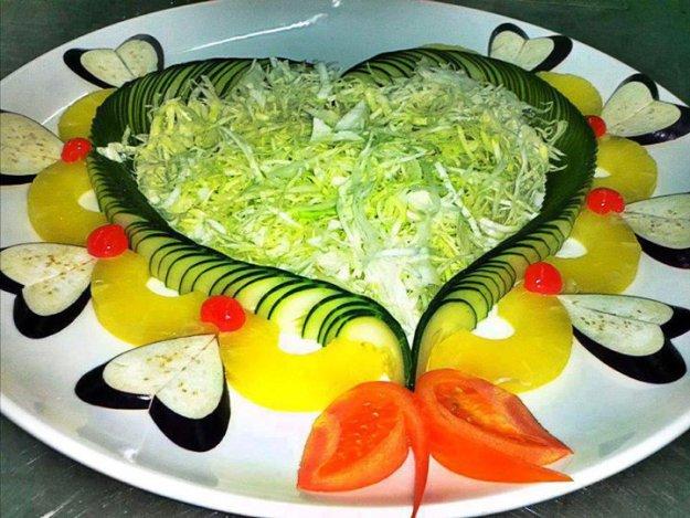 Праздничные салаты рецепты и оформление