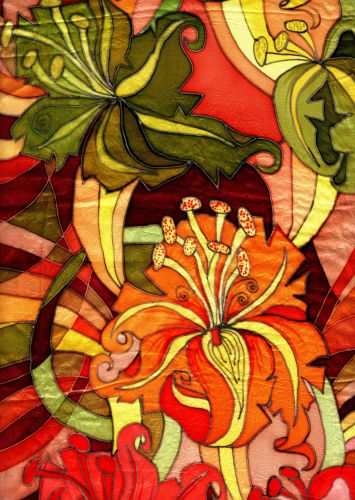 Ткани для художественной росписи