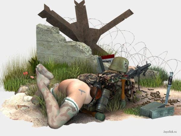девушки войны голые фото