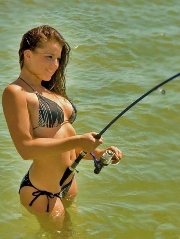 с красотками на рыбалку
