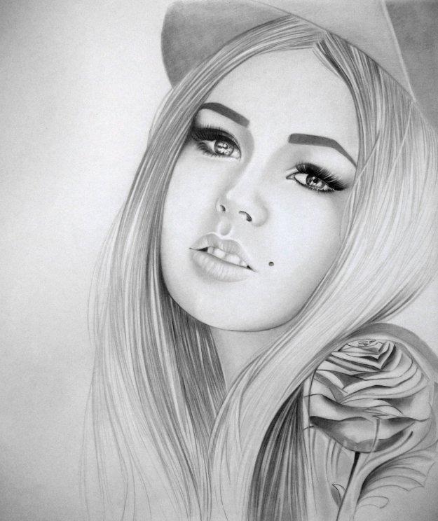 фото простым карандашом рисунки