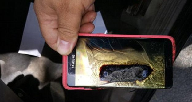У жительницы Гавайев загорелся «безопасный» Samsung Galaxy Note 7