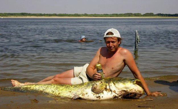 начало рыбалки на сома весной