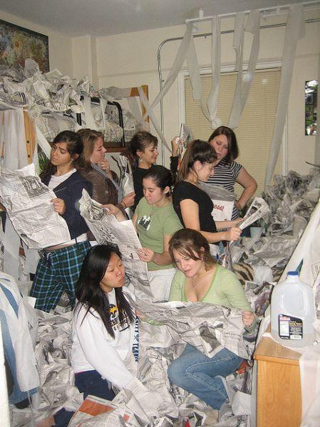 девушки в общежитиях фото