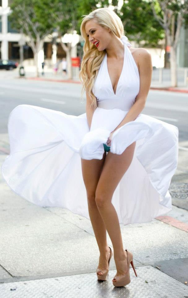 ветер под платье фото