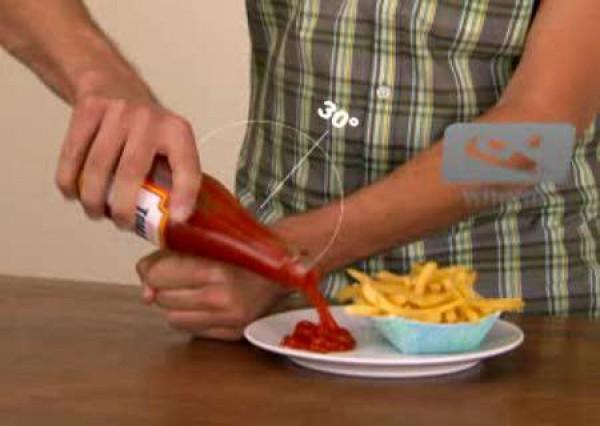 Как быстро вытряхнуть кетчуп