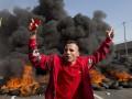 Бразилию охватили протесты против ЧМ-2014: демонстранты жгут шины