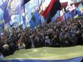 В Киеве возле памятника Шевченко собираются участники марша по случаю 70-летия УПА