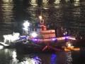 Вертолет рухнул в реку в Нью-Йорке