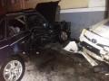 В Полтаве Toyota Prius полиции протаранила Ford нарушителя