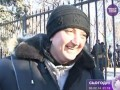 Женщина на Антимайдане стоит «за идею Ющенко»
