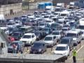 Около тысячи машин вновь застряли на Керченской переправе