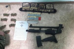Участник блокады хотел вывезти оружие в Киев