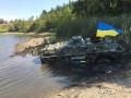 На БТРах по воде: Как на Донбассе проходят учения спецназа