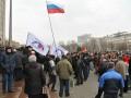 Митинги в Донецке: палаточный городок