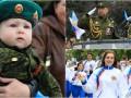 9 мая в оккупированном Луганске: Бессмертный полк и военная техника