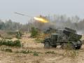 Под Киевом артиллеристы испытали мощь украинских Градов