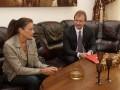 Попов встретился с принцессой Монако