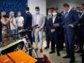Зеленский посетил вуз кандидата на пост министра образования