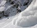 В Карпатах сошла лавина мокрого снега