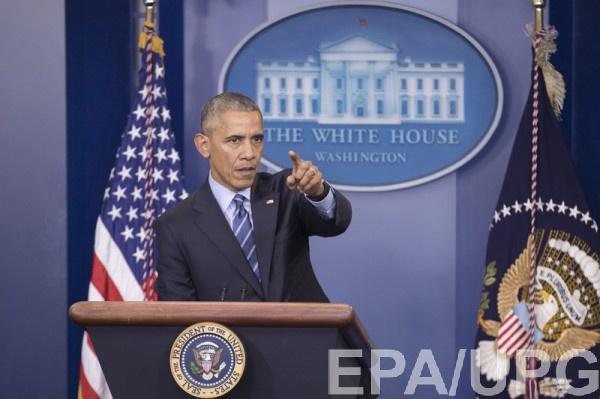 Обама подчеркнул, что в Сирии происходят убийства мирных жителей