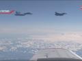 Истребитель F-16 приблизился к самолету министра обороны РФ