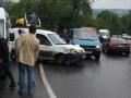 Во Львове в ДТП разбились 7 автомобилей