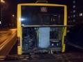 В Киеве у автобуса на ходу оторвалось днище