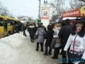 Застрял в тебе, Киев. Удручающие ФОТО пробок и очередей