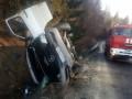 На Львовщине перевернулся микроавтобус, есть жертвы