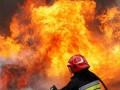 В Сумской области горела нефтяная скважина