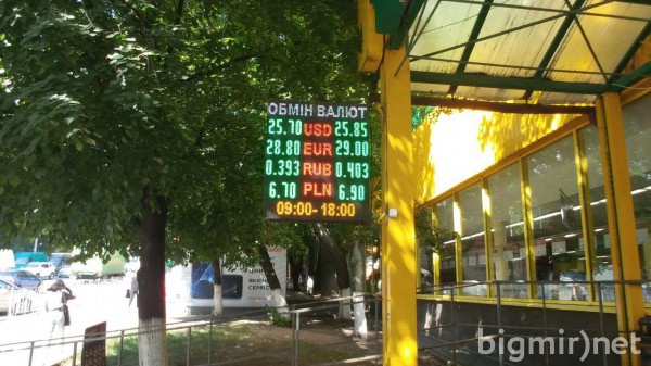 На теневом рынке доллар утром, 9 июля, можно купить по 25,85 грн/долл
