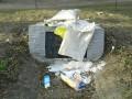 В Харькове хулиганы осквернили памятник воинам УПА