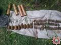 Правоохранители изъяли у двух жителей Авдеевки арсенал оружия, боеприпасов и взрывчатых веществ